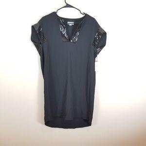 Calvin Klein Blac Sequin Dress -Size 8 NEW